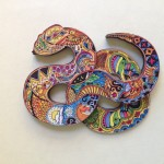1.Serpent Icon Huichol